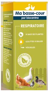 Aliment complémentaire Respiratoire pour volaille